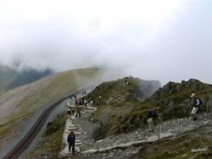 Llanberis Path and Railway