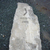 Stone Pillar on Snowdon